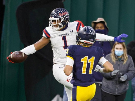 Denton Ryan advances to 5A D1 Semifinals with important win over Highland Park