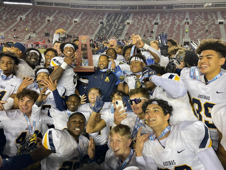 St. Thomas Aquinas wins 12th state championship to break state record