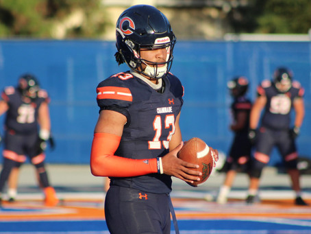 Jaylen Henderson throws 4 touchdowns for Chaminade in upset win over Bishop Alemany