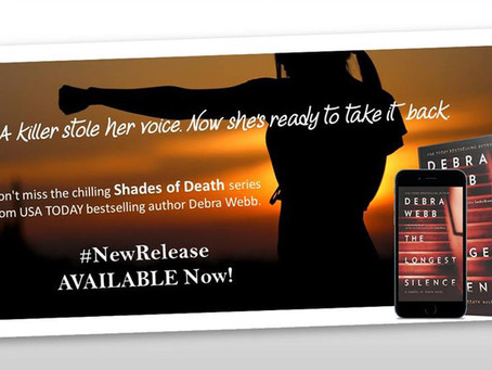 Don't miss the chilling Shades of Death series from USA TODAY bestselling author Debra Webb.
