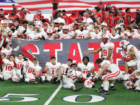 Katy wins the program's ninth state championship with win over Cedar Hill