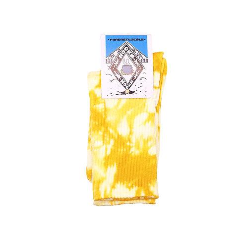 Носки вареные Желтые