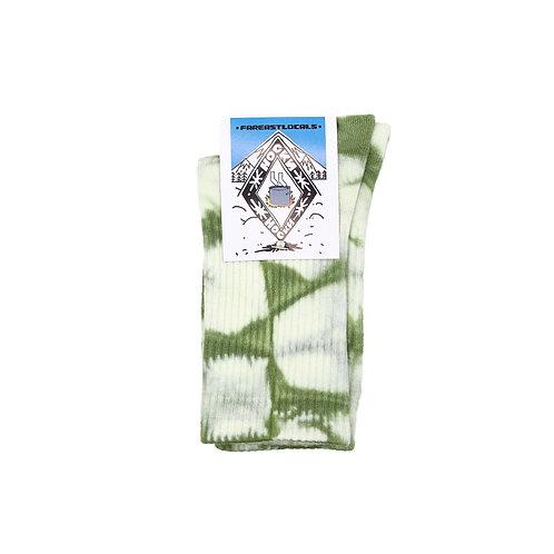 Носки вареные Зеленые