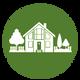 Custom Home Construction Icon