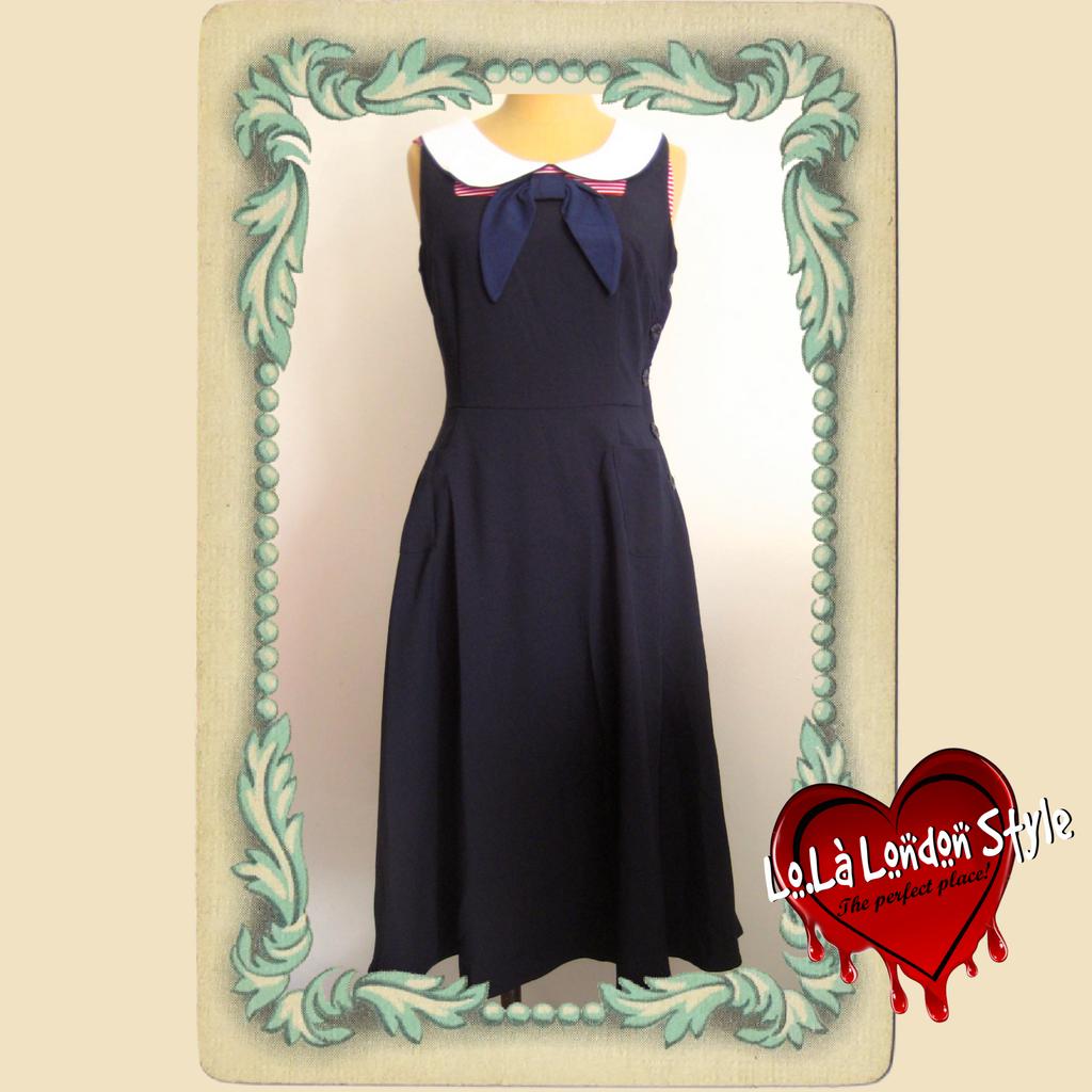 Abiti Da Sera Anni 40.Lola London Style 174 Lls Vintage Clothing