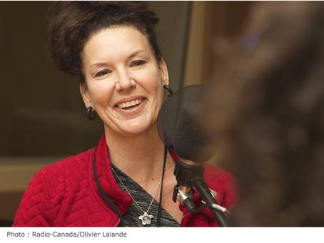 Entrevue avec Majoly Dion à ici Radio-Canada | Médium-Large