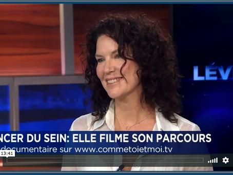 Entrevue de Majoly Dion à Denis Lévesque pour son film | TVA