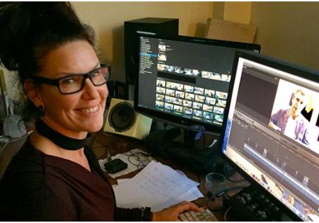 Reportage sur Majoly Dion avec Anne-Louise Despatie à Radio-Canada