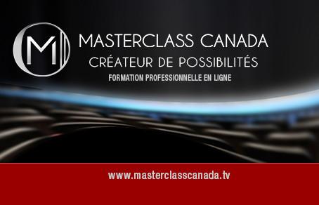 Lancement de Master Class Canada.tv