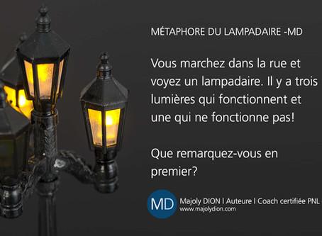MÉTAPHORE DU LAMPADAIRE