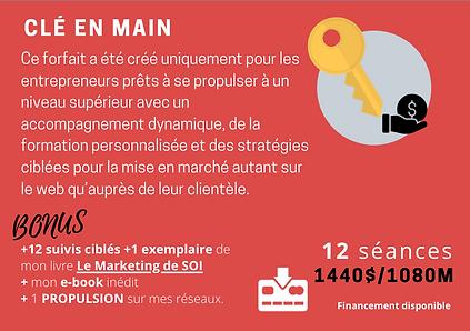 4🔑FORFAIT CLÉ EN MAIN ( 12 séances + 1