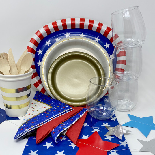 Stars & Stripes Party Kit