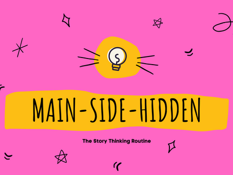 How to encourage in-depth thinking: Main-Side-Hidden