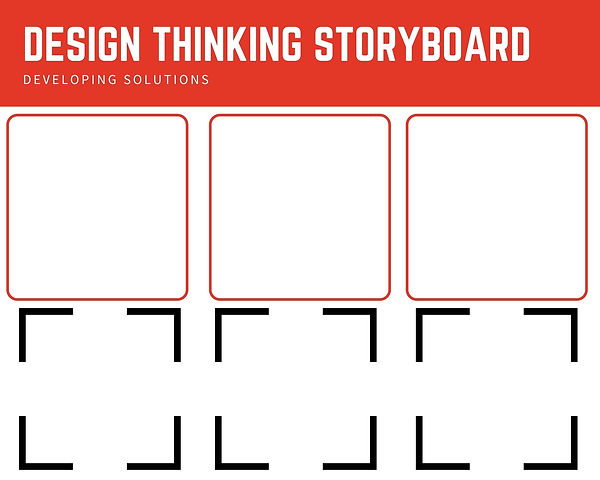 Storyboard, creative thinking, teambuilding, brainstorming, critical thinking, strategic thinking, design thinking, systems thinking, education, professional development, hexis21, hannah young, digital education, working from home, problem solving, 21st century skills