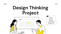 Design Thinking Presentation Template