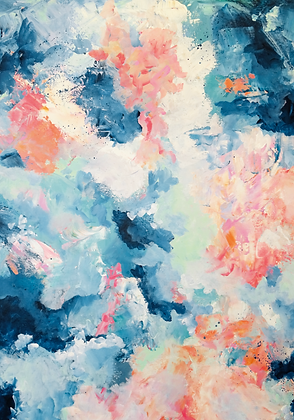 'Breathe' Limited Edition Abstract Art Print