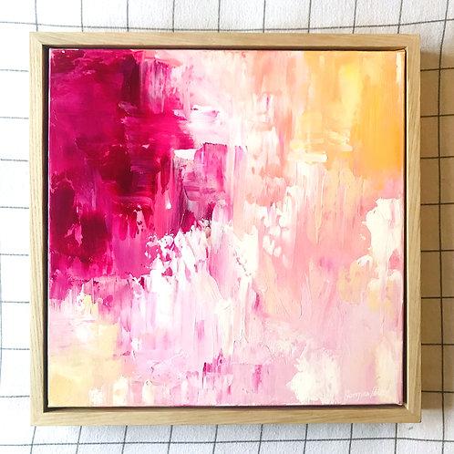 'Sun Dance' 40cm x 40cm Framed Mini