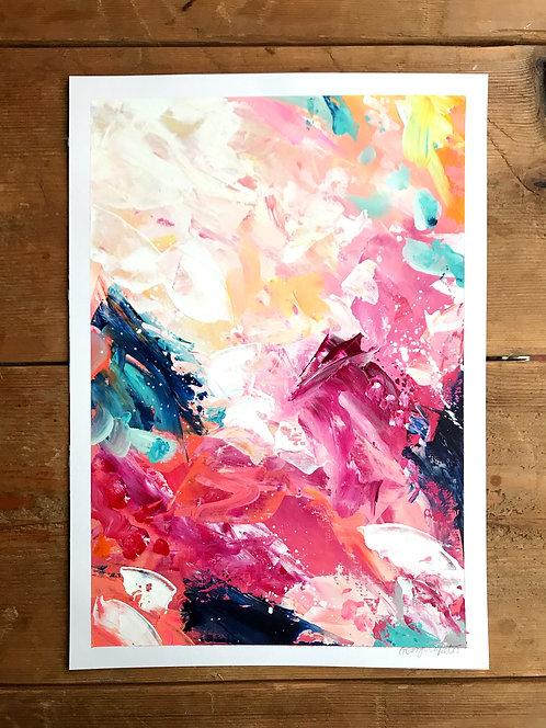 'Rain Dance' A3 Original Art