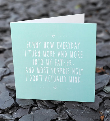 FATHER DAVE CARD
