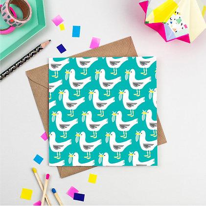 Seagull Pattern Card