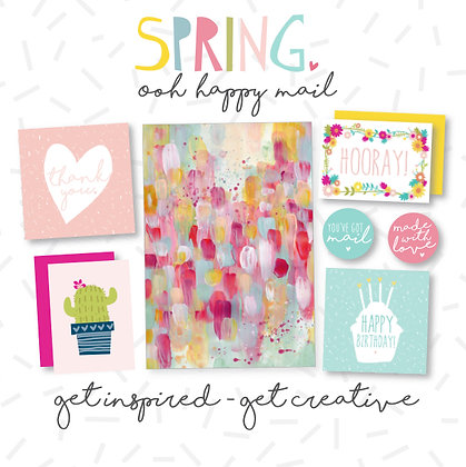 SPRING OOH HAPPY MAIL