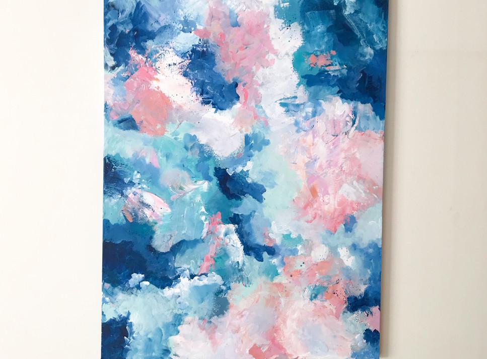 'Breathe' 60 x 80cm