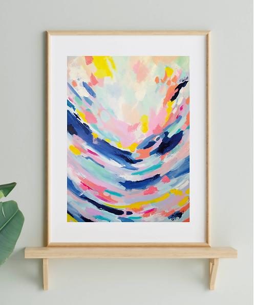 'Hope on the Horizon' A3 Print
