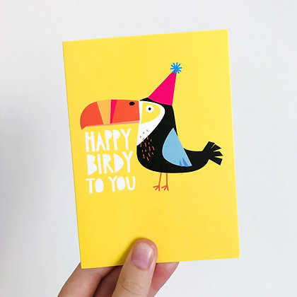 'Happy Birdy to you' Card