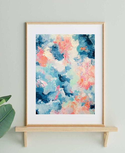 'Breathe' A3 Print