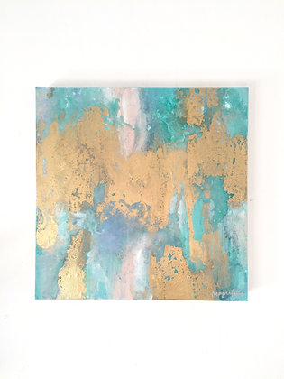 'Mirage' 40 x 40cm Original Abstract Painting