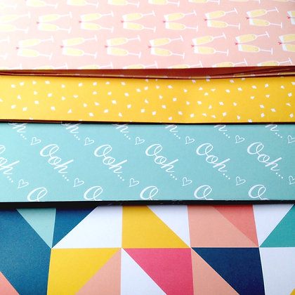 WRAPPING PAPER 4 PACK