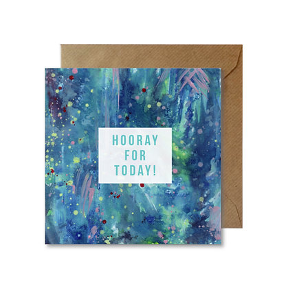 AHT024 HOORAY FOR TODAY Card