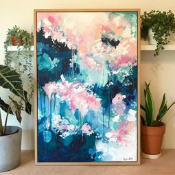 'Rain Blosson' 60cm x 90cm