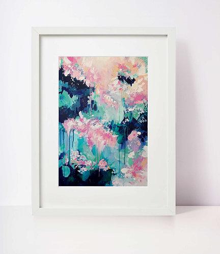 'Rain Blossom' A3 Print