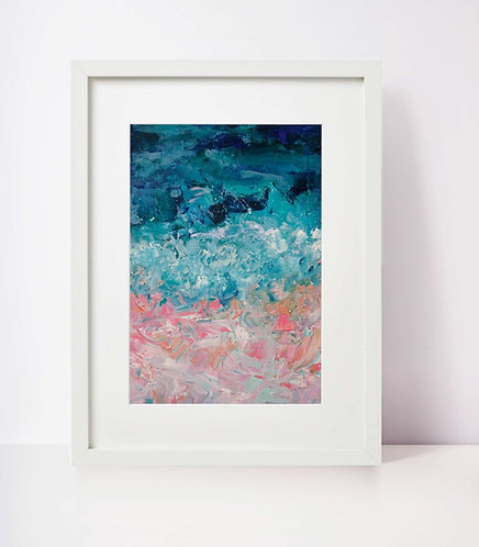 'Cascade' A3 Print