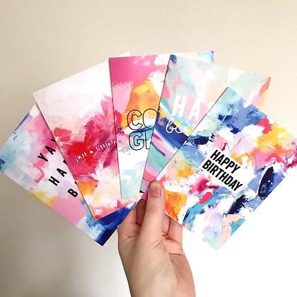 Arty 5 Card Bundle