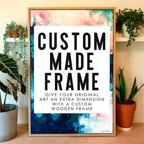Custom Handmade Wood Frame