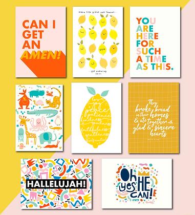 Bible Based Mini A6 Prints
