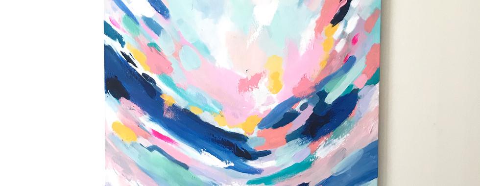 'Hope on the Horizon' 60 x 90cm