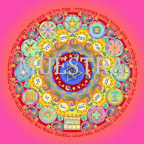 Mandala Protección Mujer Descarga inmediata
