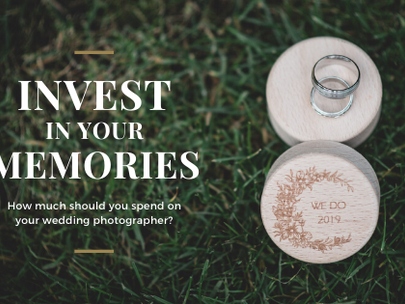How Much Should You Spend On Your Wedding Photographer?