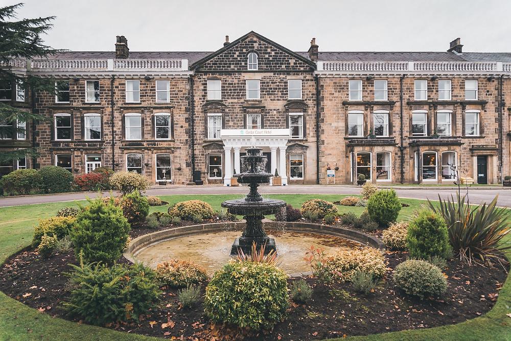 Cedar Court Hotel Harrogate - perfect for a winter wedding