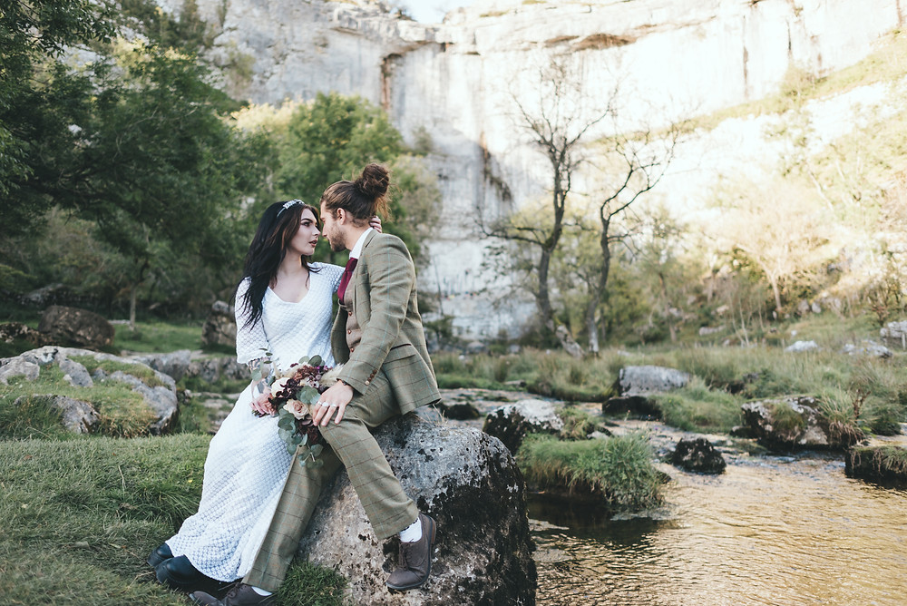 Elopement at Malham Cove