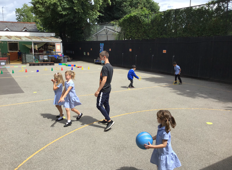 Socially Distanced PE