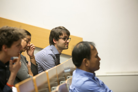 Edwin Wouters, Sokhuntea Yem, Črt Zavrnik, Ir Por following the presentation about SIM activities in the SIM centre