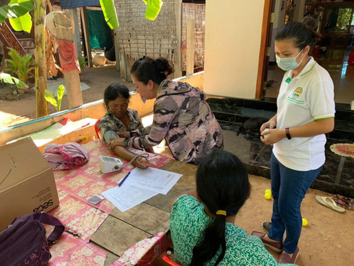 Household survey: Understanding different models of care for diabetes and hypertension in Cambodia