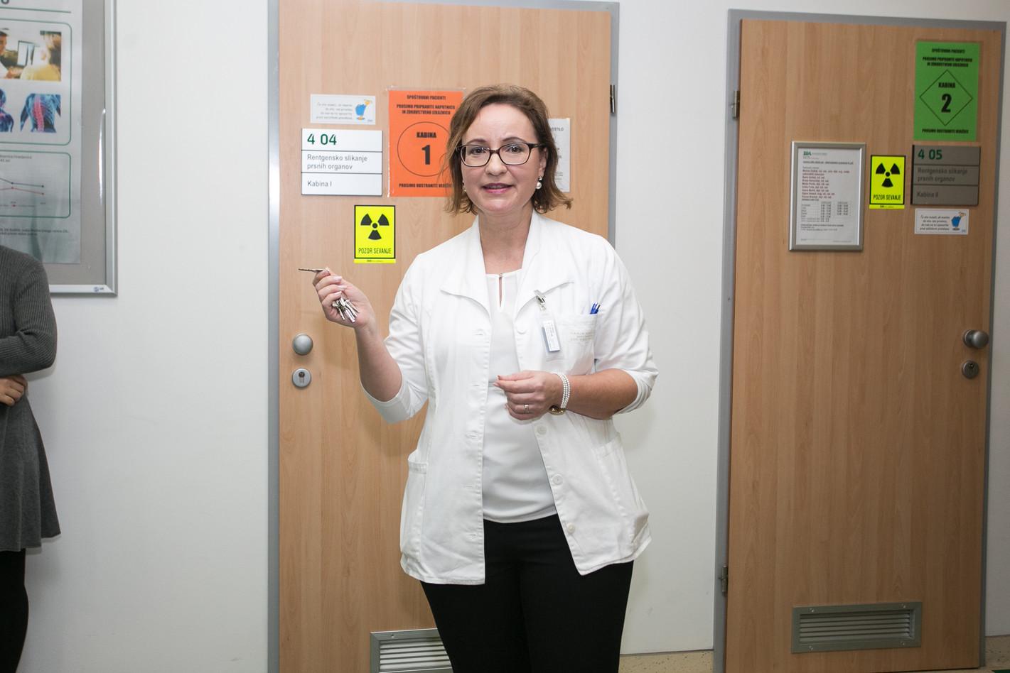 Vanja Kos, Head of Radiology Department of the Unit Center