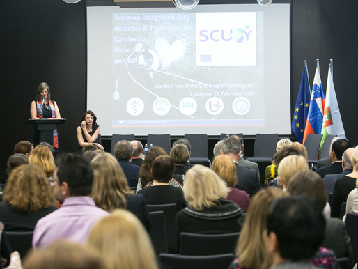 SCUBY: successful start in Ljubljana !