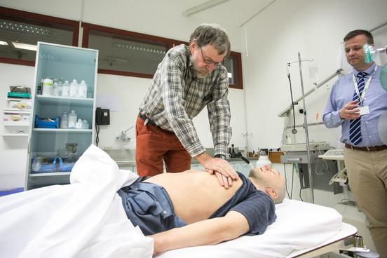 Wim saving model patient's life