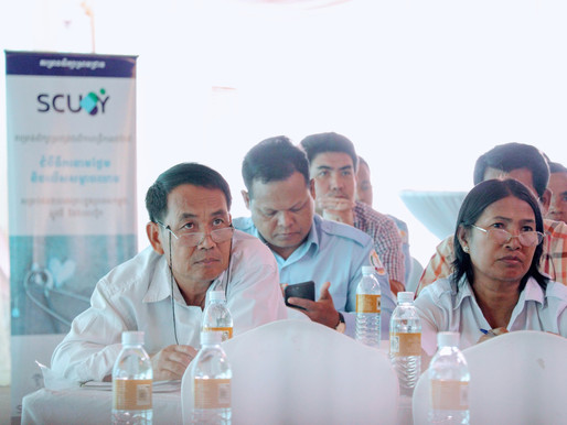 SCUBY Project Launch in Cambodia